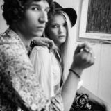 couple alternative dylan music youngsters solitude museum kozlowka fashion styling sepia first communion celebration family and Portrait Photographer Face The Dream Photography Studio Leith Edinburgh Lublin Eh6 social Wedding and Portrait Photographer - Face The Dream Photography Studio; Leith; Edinburgh